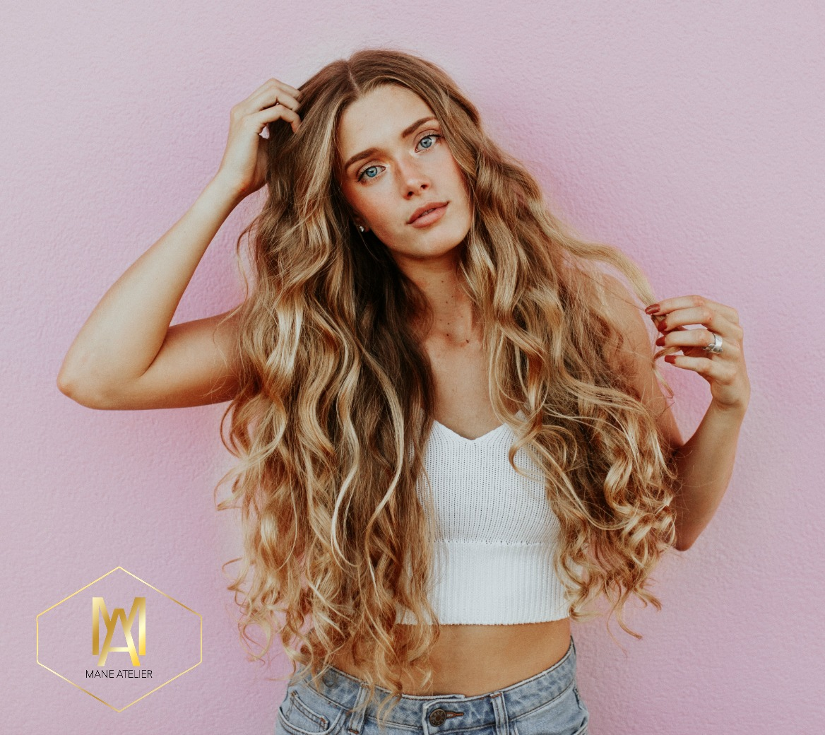 Who Can Wear Tape In Extensions Mane Atelier Hair Salon Dallas